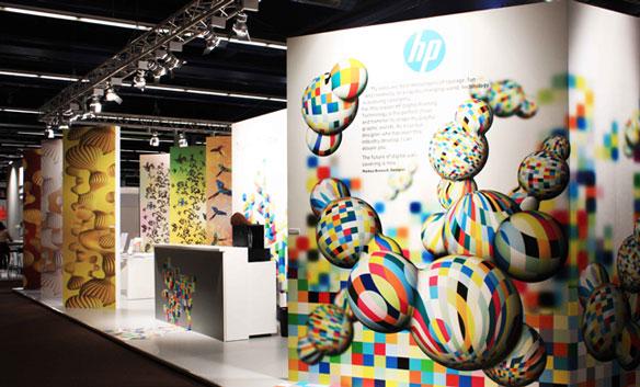 HP представил обновленное решение для печати обоев