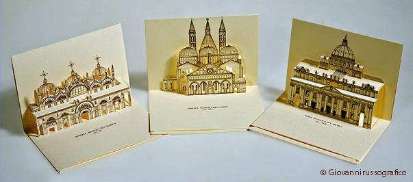 Объемные книга открытка