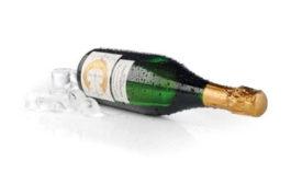 Премиальный лёд от UPM Raflatac для винной этикетки
