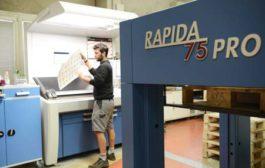 Rapida 75 PRO: фармпечать в половинном формате