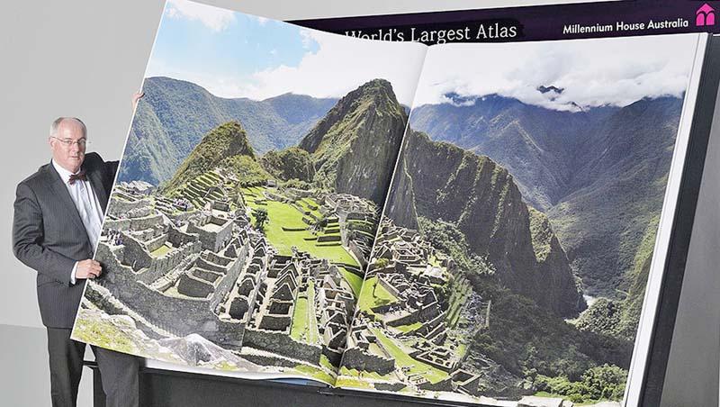 Самый большой в мире атлас. KBA Rapida 205