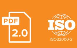 Обновление PDF и ISO переформатирует отрасль