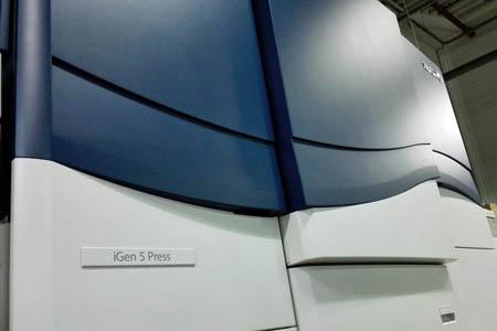 Первый в России Xerox iGen5 – в типографии «Четыре цвета» (СПб)