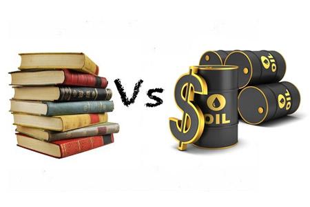 Книгоиздание и цены на нефть