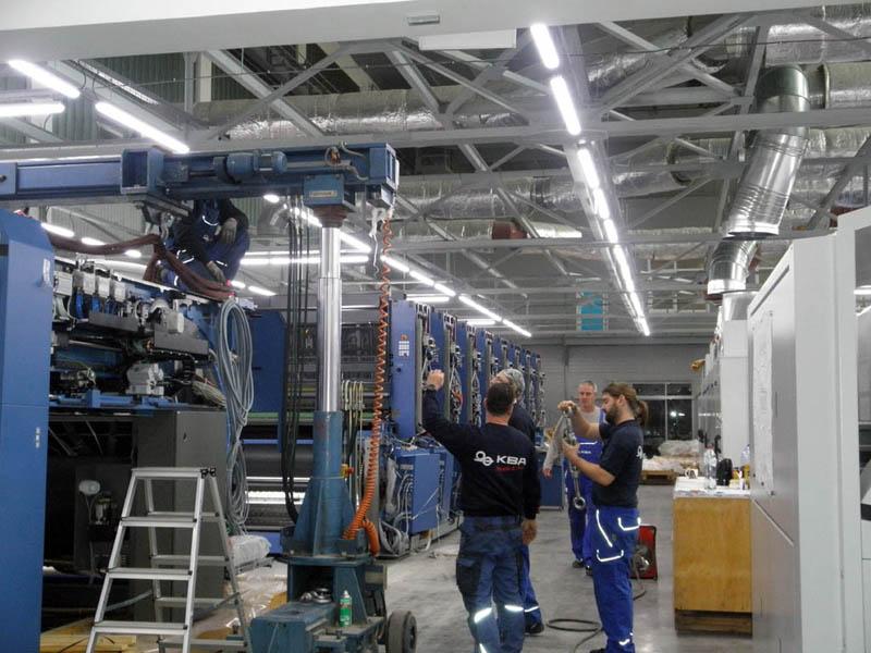 Генеральный директор HP Indigo посетил «Чеховский Печатный Двор»