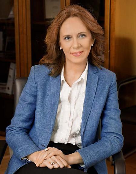Ксения Соснина, генеральный директор Группы «Илим»
