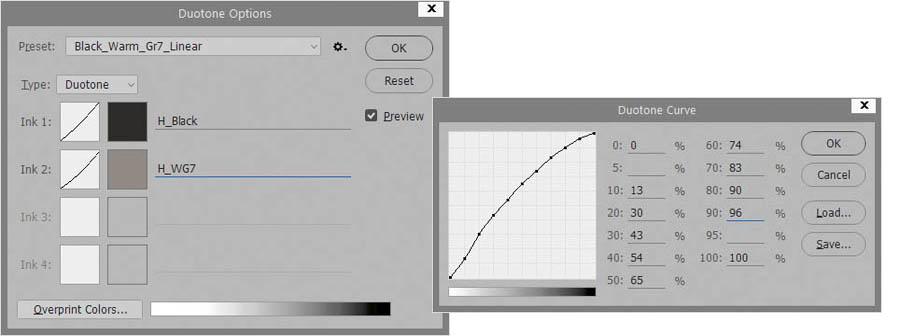 Как увидеть Duotone на экране до печати