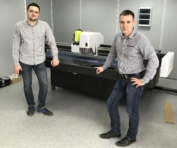 Legion Group установила 2 плоттера ESKO Kongsberg X20 в «ГОТЭК»
