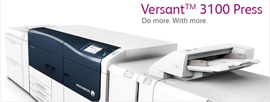 Три новых Versant от Xerox