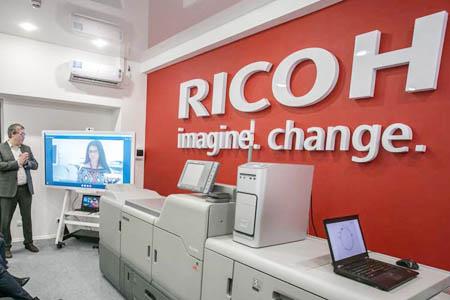 Официальное открытие офиса Ricoh в Санкт-Петербурге
