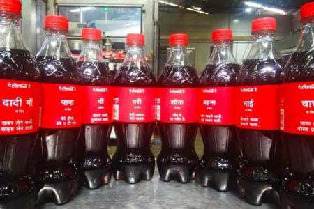 HP и Coca-Cola вовлекают Индию в кампанию «Поделись Coke»