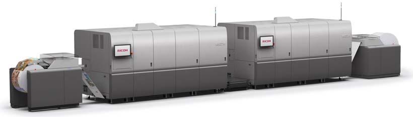 Ricoh Pro VC70000 и новые чернила: прорыв в технологии струйной печати