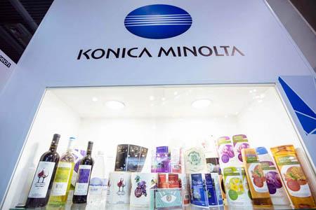 Оптимальные решения для этикетки и отделки от Konica Minolta