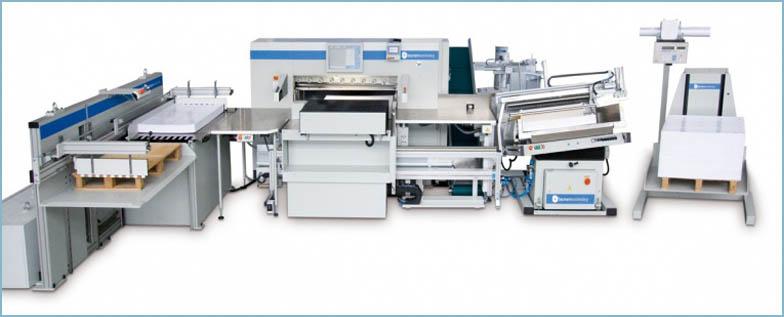 Компания ТЕРРА СИСТЕМЫ – эксклюзивный поставщик бумагорезальных машин Baumann-Wohlenberg