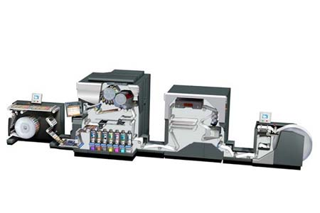 HP Indigo 6800 в типографии «Мегафлекс»