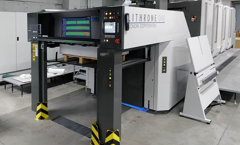 Печатная машина Komori G40