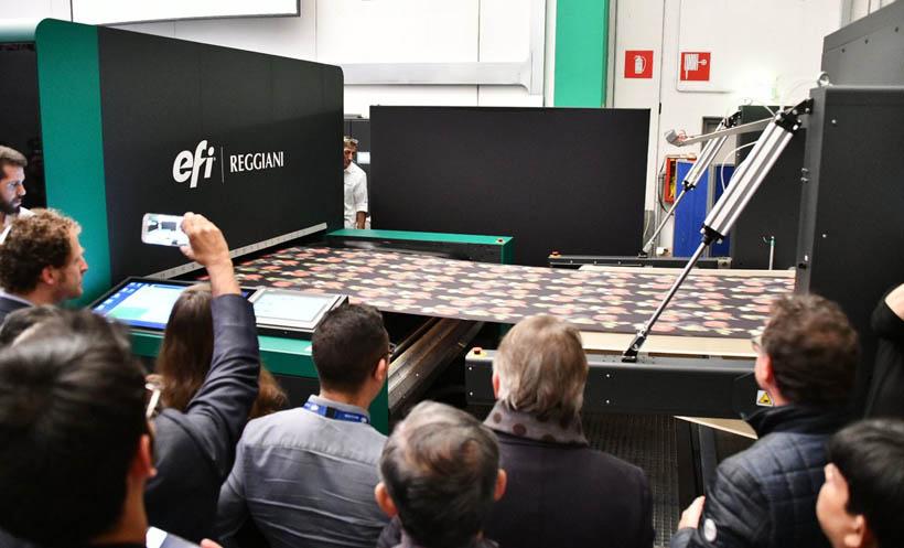 Цифровой однопроходный принтер Reggiani Bolt