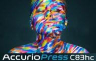 Новая Konica Minolta AccurioPress C83hc с расширенным цветовым охватом