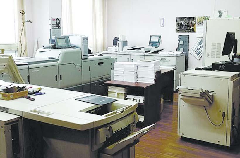 Сразу две ЦПМ Ricoh Pro C9200 и Pro 8210 в типографии «П-Центр»