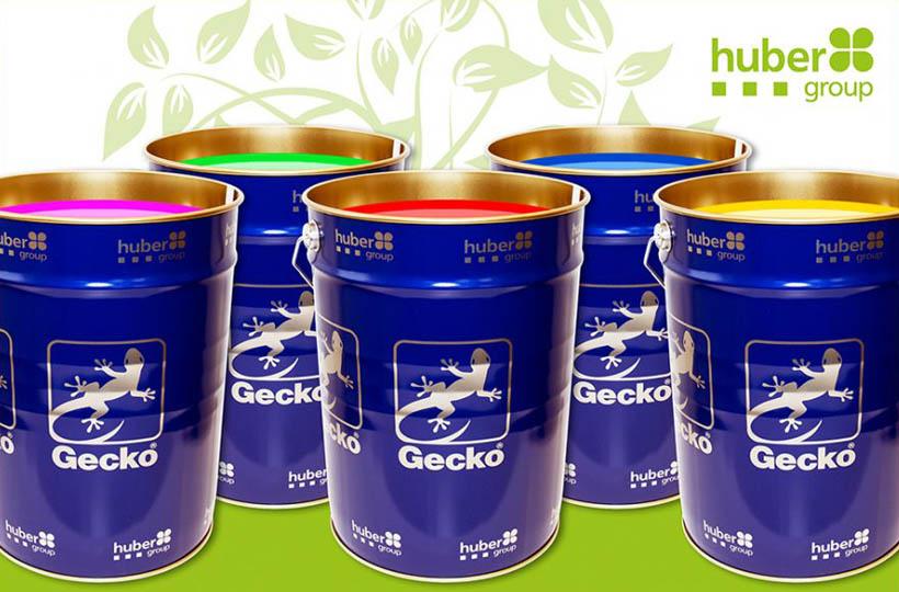 Зеленый сертификат для красок Gecko от hubergroup