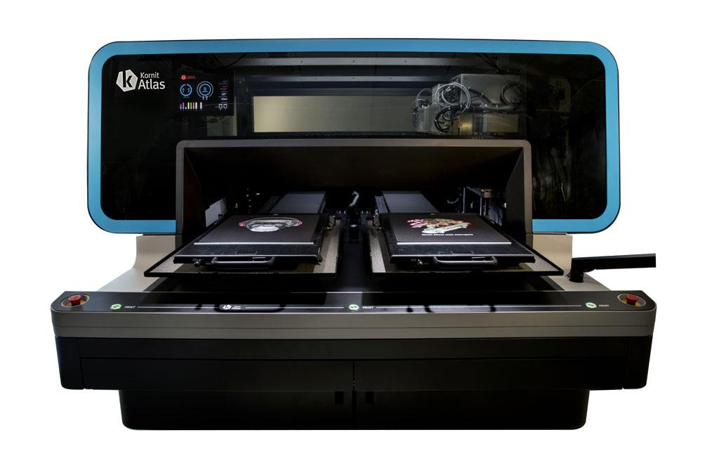 Kornit выпустила новый DTG принтер Atlas