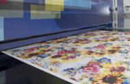 Салон цифровой печати по текстилю на Российской неделе Легпрома