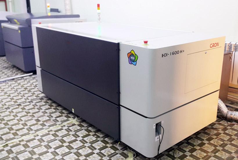 Группа компаний «Легион» установила третий CRON HDI для производства флексоформ