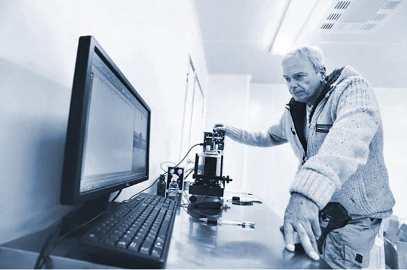 Питер Беннет в Wuhan Jindun Laser Technology.