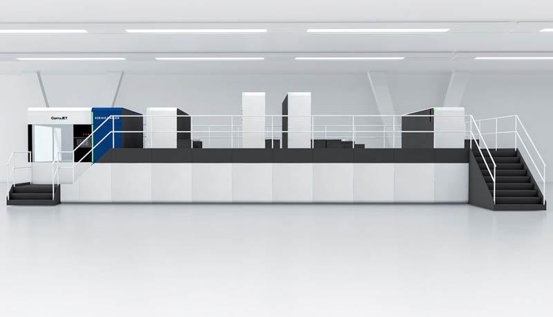 Первая CorruJET от Koenig & Bauer будет запущена в компании KOLB
