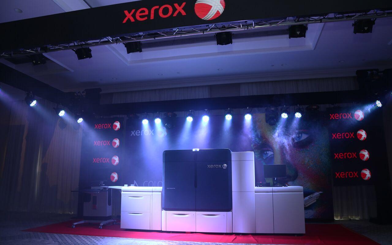 2-й Xerox Iridesse Production Press в России