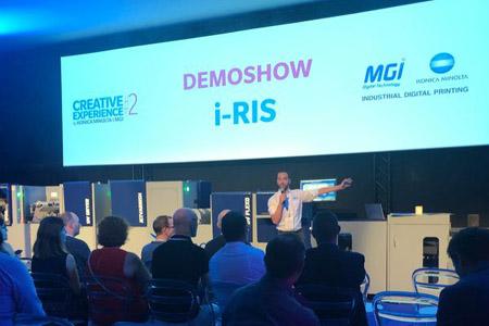 I-Ris: новая линия цифровой печати и отделки от MGI