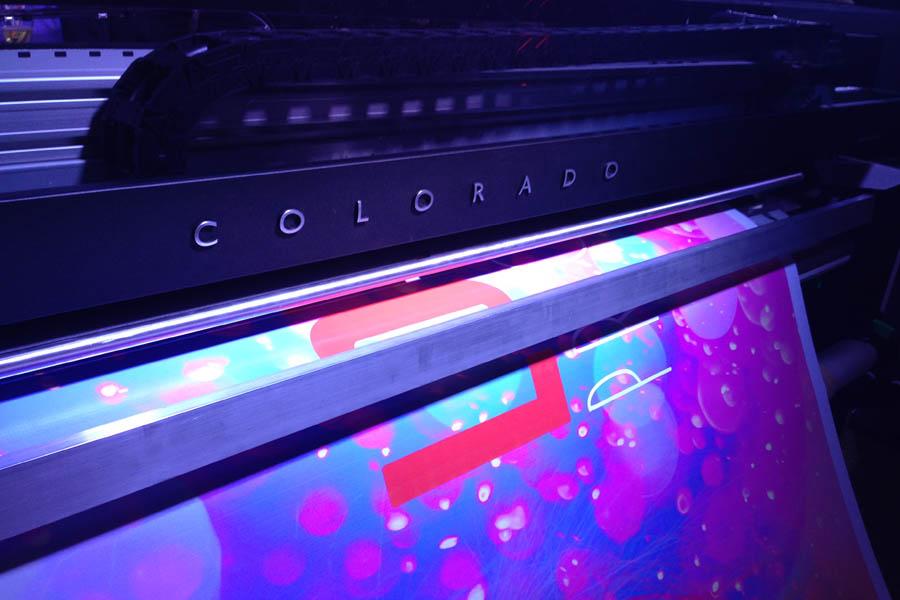 УФ-принтеры Canon Colorado в «Винк»