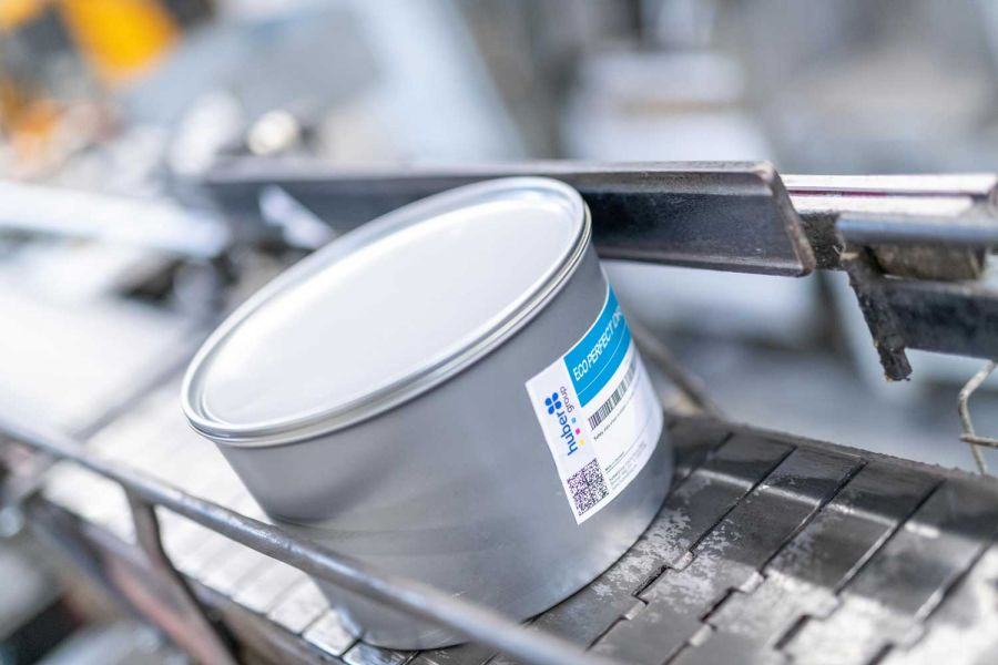 Быстрозакрепляющаяся и экологичная краска Eco-Perfect-Dry от hubergroup
