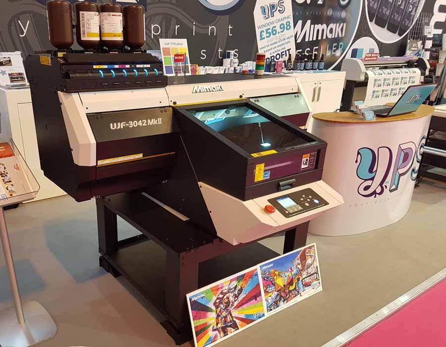 УФ принтер Mimaki UJF-3042 MkII в «Процвет»
