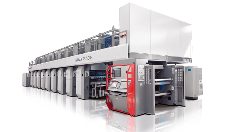 BOBST представил новую машину глубокой печати