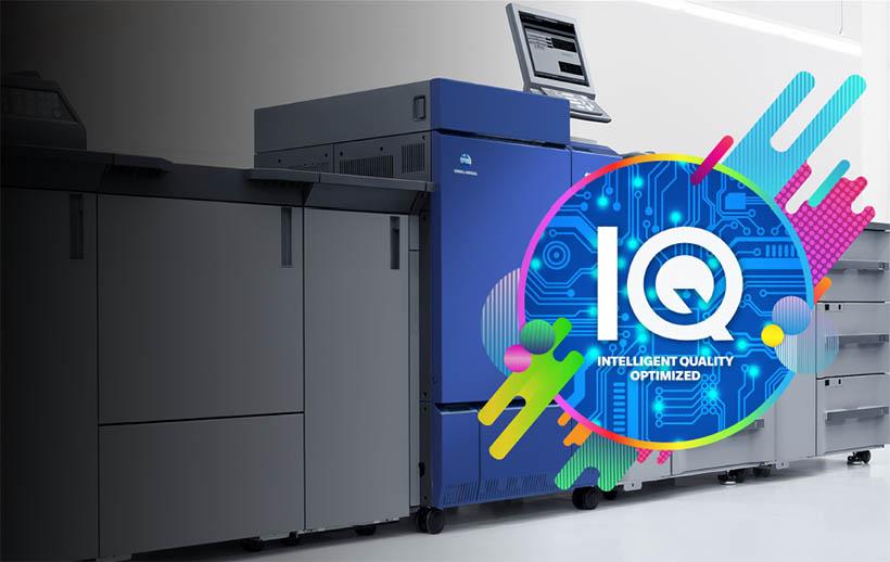 Первая печатная машина Konica Minolta с IQ в Удмуртии