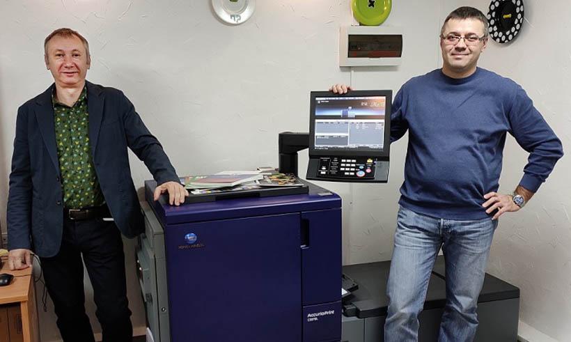Волгоградские «Печатные решения» приобрели третью ЦПМ Konica Minolta