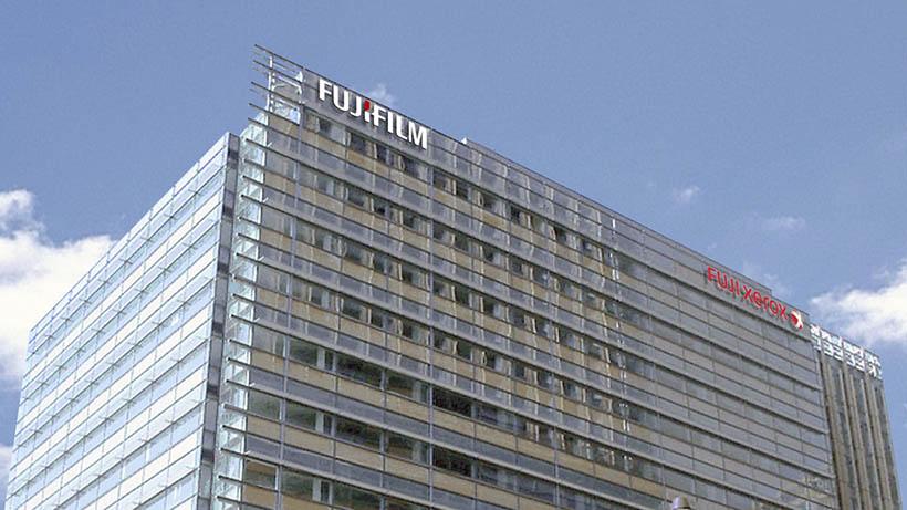 Fuji отставит Xerox