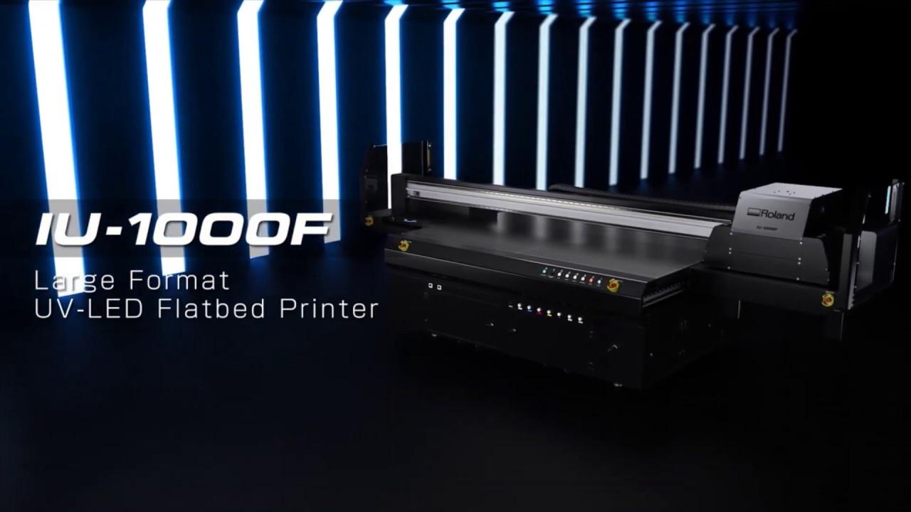 Roland DG представил на Viscom УФ принтер IU-1000F