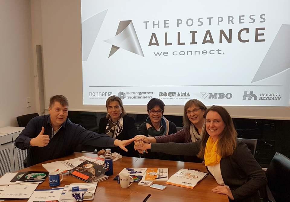 Альянс в послепечатном сегменте на drupa 2020