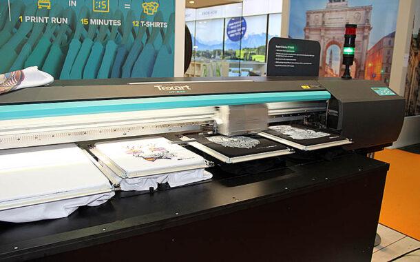 Новый DTG принтер RolandTexart XT-640S-DTG