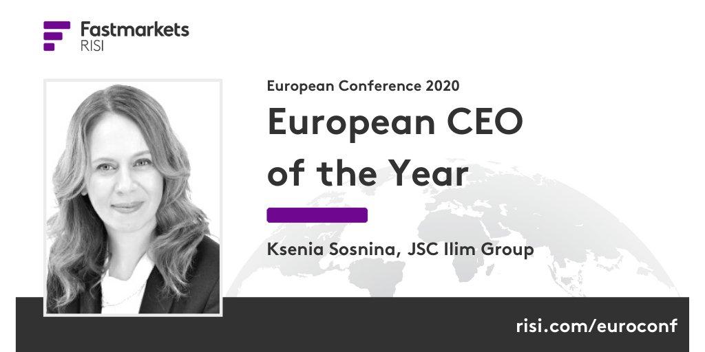 Ксения Соснина признана лучшим гендиректором Европы