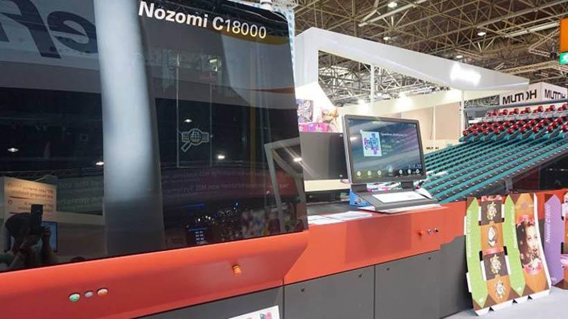 Польская компания переходит на гофропечать с EFI Nozomi C18000