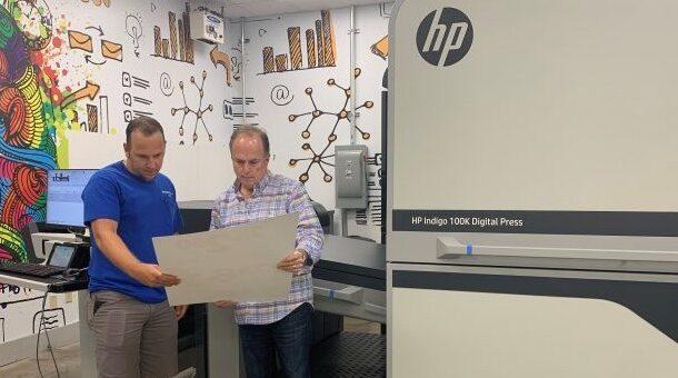Первая серийная коммерческая инсталляция HP Indigo 100K