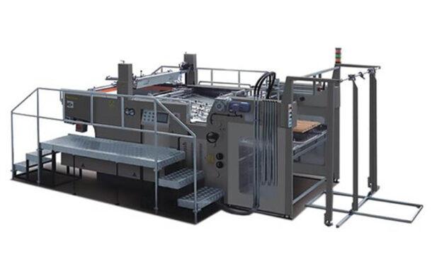 Трафаретная машина JINBAO в типографии «СП-Принт»