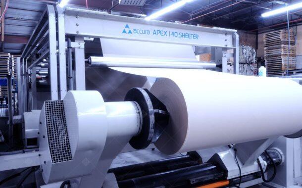 ТК «Девиз» установил ротационную листорезальную машину ACCURA APEX 140