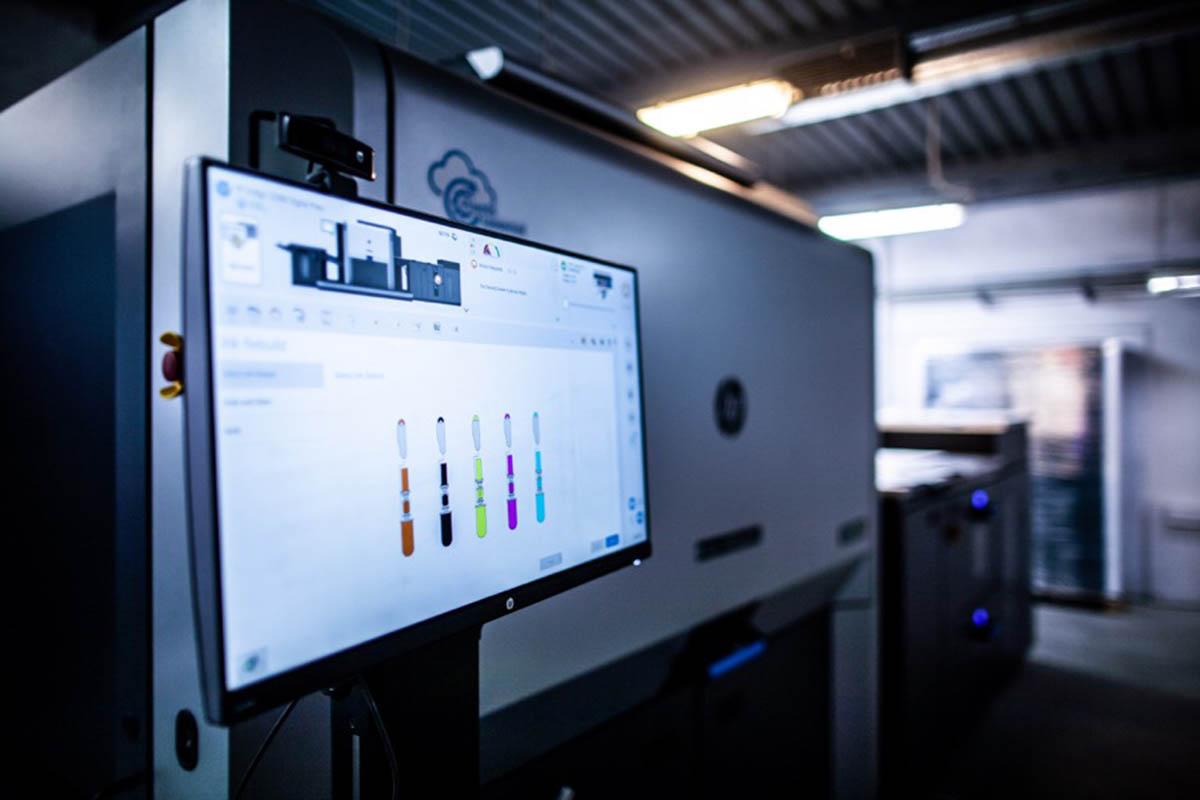 Новая HP Indigo 12000 в