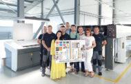 KOMORI GL-540C запущена в челябинской типографии «Темп»