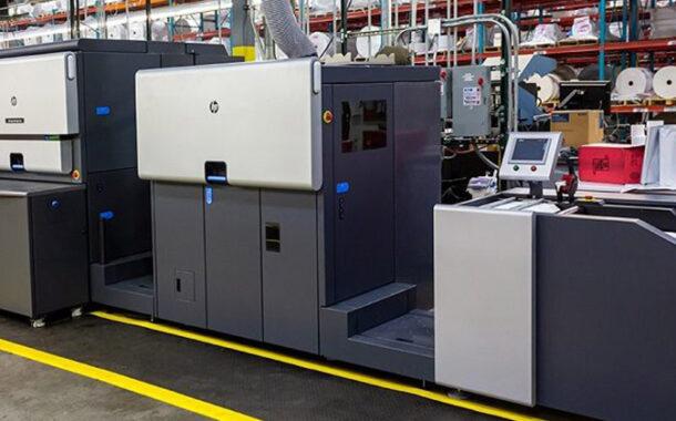HP Indigo 6900 в типографии