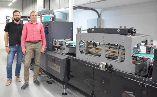 azimutprint: первая в России машина для изготовления дойпаков Karlville KS-DSUP-400